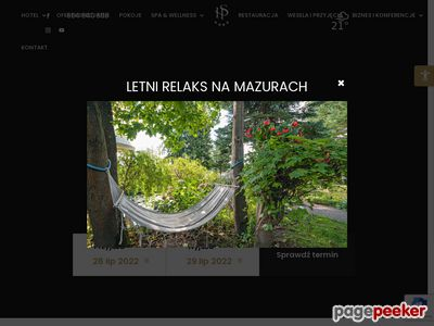 Hotel SOLAR PALACE SPA & Wellness - Mazury